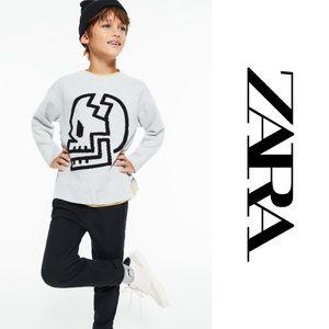 ZARA Skull boy's sweater